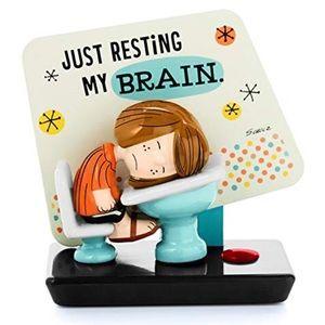 Peanuts Peppermint Patty Resting my Brain Hallmark